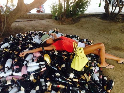 Piles of Wine